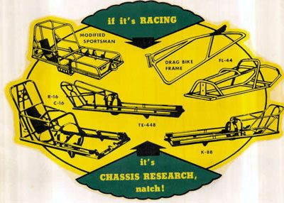 Race Car Chassis Builders And Parts