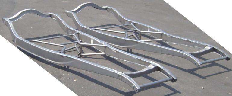 TIG-welded 1932 Ford frames