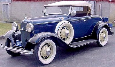 The 1932 Ford  the Deuce