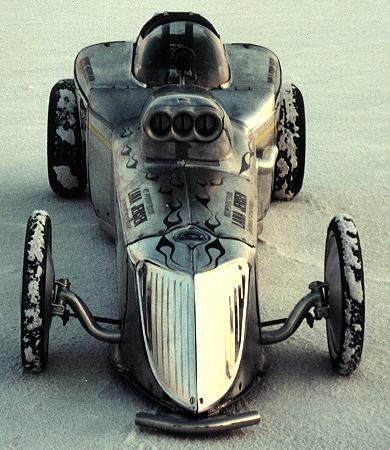 Russ Meeks' roadster