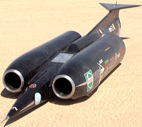 ThrustSSC - The fastest car in the world