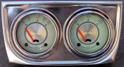 sw green pair classic stewart warner gauges stewart warner fuel gauge wiring diagram at eliteediting.co
